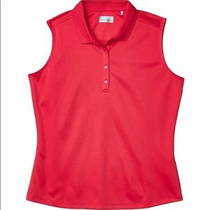 CALLAWAY - Sleeveless Essential Solid Knit Polo